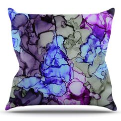 String Theory by Claire Day Outdoor Throw Pillow