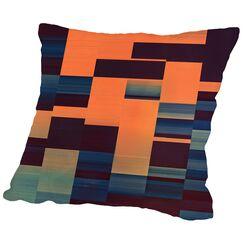 Glytch Hyryzyn Throw Pillow Size: 14