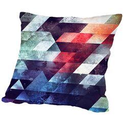 Crykkd Glyry Throw Pillow Size: 14
