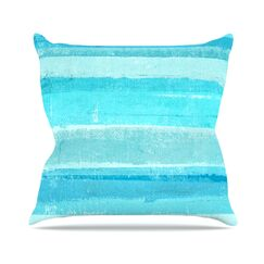 Sand Bar by CarolLynn Tice Throw Pillow Size: 26