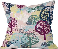 Polyester Throw Pillow Size: 16