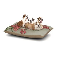 Carina Povarchik 'Feng Shui' Dog Pillow with Fleece Cozy Top Size: Small (40