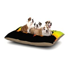 'San Francisco' Dog Pillow with Fleece Cozy Top Size: Small (40