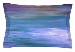 Ebi Emporium 'Resonance 1' Painting Sham Size: King