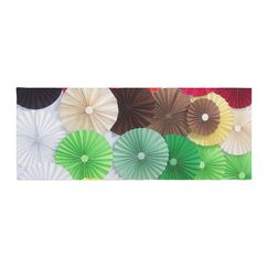 Heidi Jennings Adored Colored Circles Bed Runner