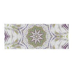 Alison Coxon Boho Dream Bed Runner Color: Olive