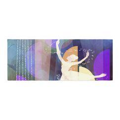 AlyZen Moonshadow Ballet Bed Runner
