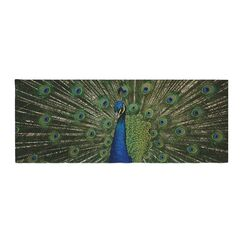 Angie Turner Proud Peacock Animals Bed Runner