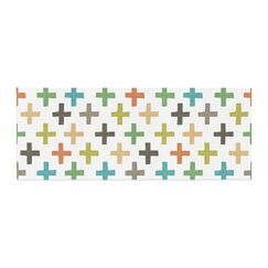 Daisy Beatrice Hipster Crosses Repeat Bed Runner