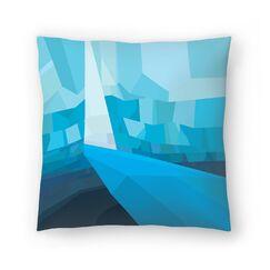 Joe Van Wetering Solitude Throw Pillow Size: 16