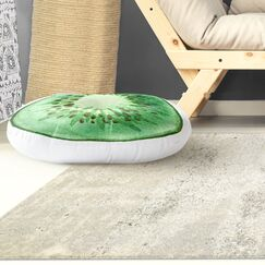 Modern Kiwi Floor Pillow Size: 26