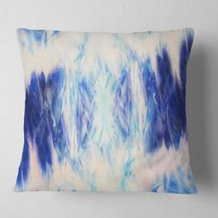 Abstract Collage with Spots Pillow Size: 16
