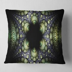 Abstract Into the Center of Fraction Pillow Size: 18