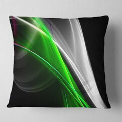 Abstract Fractal Lines Pillow Size: 16