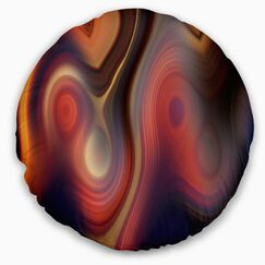 Abstract Beautiful Texture of Colors Throw Pillow Size: 16