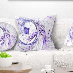 Abstract Billowing Smoke Pillow Size: 16