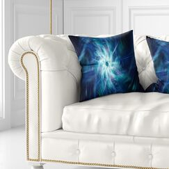 Splaying Bright Fireworks Pillow Size: 26