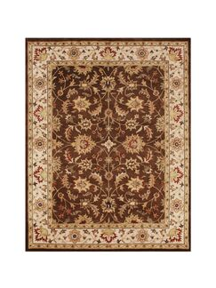 Meridian Hand-Tufted Chocolate Brown Area Rug