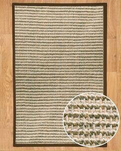 Hand-Woven Gray Area Rug Rug Size: Rectangle 3' x 5'