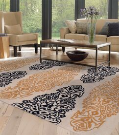 Hand-Tufted Angora Area Rug Rug Size: Rectangle 8' x 11'