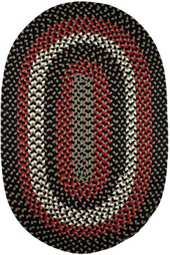 Handmade Indoor/Outdoor Area Rug Rug Size: Oval 5' x 8'