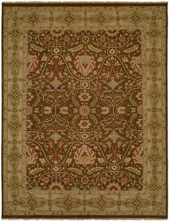 Dumka Hand-Knotted Fall Sienna Area Rug Rug Size: Rectangle 2' x 3'