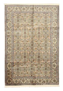 O' Valley Hand-Knotted Beige Area Rug
