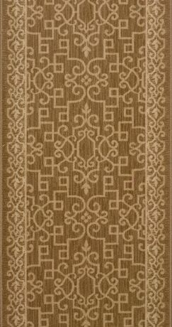 Satana Brown Area Rug Rug Size: Runner 2'7