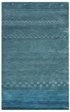 Barranquilla Hand-Tufted Blue Area Rug Rug Size: Rectangle 5' x 8'