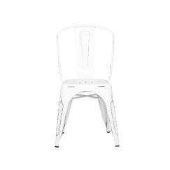 Halie Side Chair Finish: Vintage White