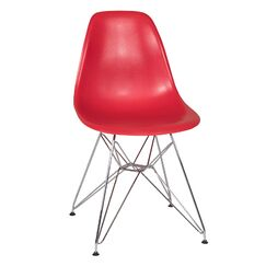 Ethan Side Chair Seat Finish: Red