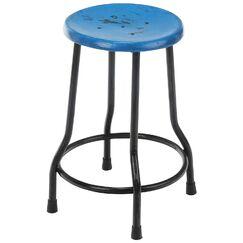 Landen Farmhouse Bar Stool Finish: Blue