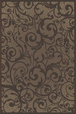 Aberdeenshire Brown Area Rug Rug Size: Rectangle 7'10