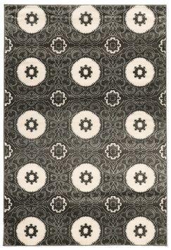 Lucinda Charcoal Area Rug Rug Size: Rectangle 8' x 10'