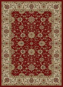Ankara Zeigler Red Rug Rug Size: Rectangle 6'7