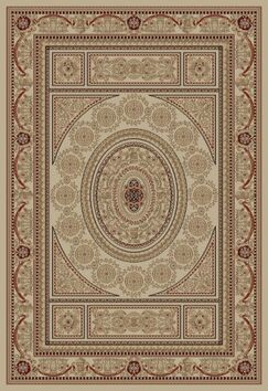 Jewel Aubusson Ivory Area Rug Rug Size: Rectangle 7'10