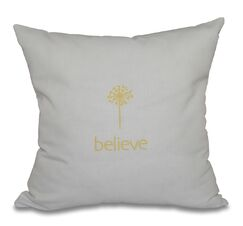 Miles City Make a Wish Throw Pillow Size: 18