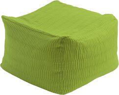 Beau Pouf Upholstery: Lime