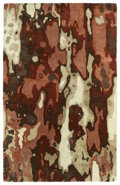 Virginis Red Area Rug Rug Size: Rectangle 5' x 7'9