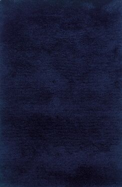 Albritton Hand-made Blue Area Rug Rug Size: Rectangle 10' x 13'
