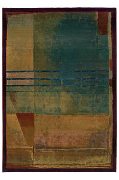 Albro Red/Green Area Rug Rug Size: Rectangle 2'3