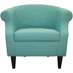 Marsdeni Barrel Chair Upholstery: Teal Blue