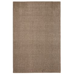 Bettie Hand-Tufted Dark Taupe Area Rug Rug Size: Rectangle 6' x 9'