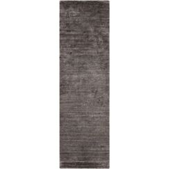 Adrian Hand Woven Charcoal Gray Area Rug Rug Size: Rectangle 2' x 3'