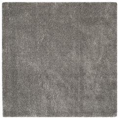 Schmitt Gray Area Rug Rug Size: Square 6'7
