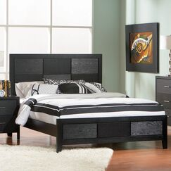 Laufer Panel Bed Size: California King