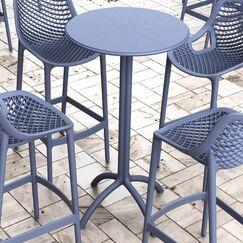 Seitz Bar Table Finish: Dark Gray