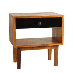 Shiloh End Table Color: Black