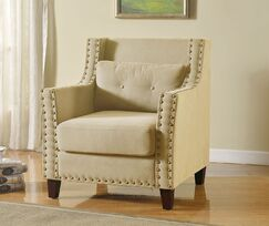 Gabriel Armchair Upholstery: Beige
