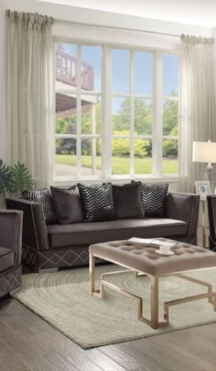 Crowthorne Sofa Upholstery: Charcoal